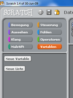 how to delete a variable in scratch