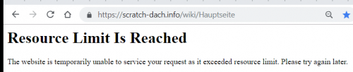 Ressource Limet is Reached Scratch Wiki Error.png